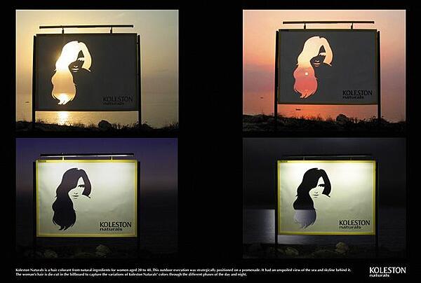 cartellone pubblicitario koleston