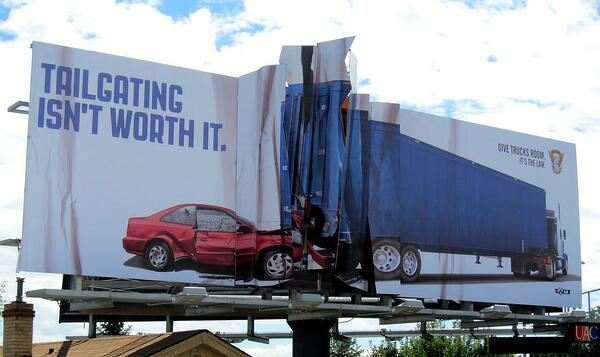 cartellone pubblicitario colorado pattuglia di stato
