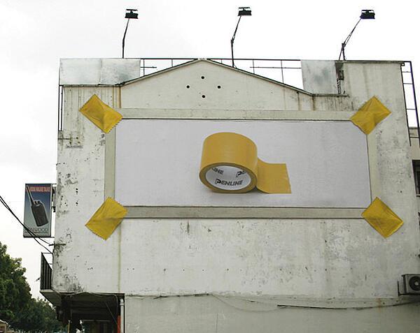 cartelloni pubblicitari penline di cancelleria