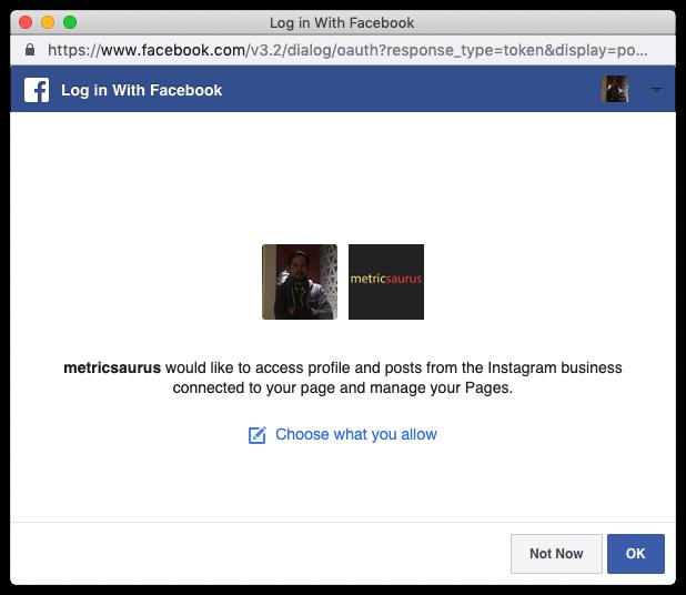 account sviluppatore facebook instagram