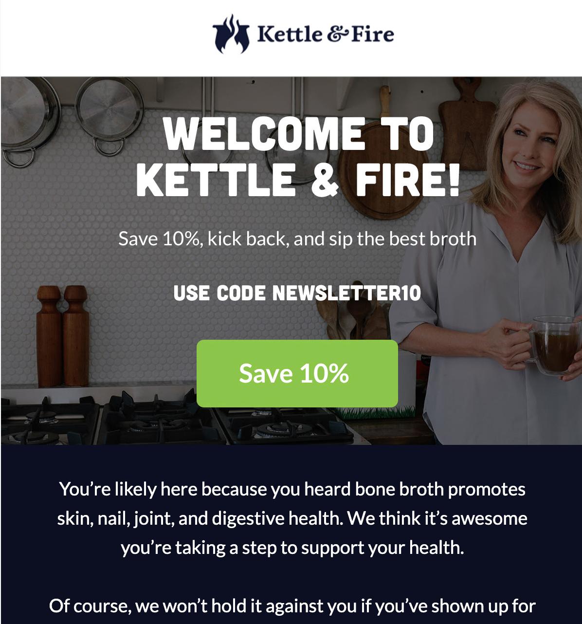 Esempio di e-mail di vendita e-commerce