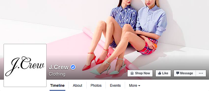 "jcrew-facebook-cover-photo.png ""title ="" jcrew-facebook-cover-photo.png ""width ="" 690 ""height ="" 300 ""srcset ="" https://blog.hubspot.com/hs-fs/ hubfs / jcrew-facebook-cover-photo.png? larghezza = 345 e altezza = 150 e nome = jcrew-facebook-cover-photo.png 345w, https://blog.hubspot.com/hs-fs/hubfs/jcrew-facebook-cover -photo.png? larghezza = 690 e altezza = 300 e nome = jcrew-facebook-cover-photo.png 690w, https://blog.hubspot.com/hs-fs/hubfs/jcrew-facebook-cover-photo.png?width= 1035 e altezza = 450 e nome = jcrew-facebook-cover-photo.png 1035w, https://blog.hubspot.com/hs-fs/hubfs/jcrew-facebook-cover-photo.png?width=1380&height=600&name=jcrew-facebook -cover-photo.png 1380w, https://blog.hubspot.com/hs-fs/hubfs/jcrew-facebook-cover-photo.png?width=1725&height=750&name=jcrew-facebook-cover-photo.png 1725w , https://blog.hubspot.com/hs-fs/hubfs/jcrew-facebook-cover-photo.png?width=2070&height=900&name=jcrew-facebook-cover-photo.png 2070w ""size ="" (max- larghezza: 690px) 100vw, 690px"