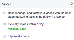 "wistia-about-preview-facebook.png ""title ="" wistia-about-preview-facebook.png ""width ="" 314 ""height ="" 172 ""srcset ="" https://blog.hubspot.com/hs-fs/ hubfs / wistia-about-preview-facebook.png? width = 157 & height = 86 & name = wistia-about-preview-facebook.png 157w, https://blog.hubspot.com/hs-fs/hubfs/wistia-about-preview -facebook.png? width = 314 & height = 172 & name = wistia-about-preview-facebook.png 314w, https://blog.hubspot.com/hs-fs/hubfs/wistia-about-preview-facebook.png?width= 471 & height = 258 & name = wistia-about-preview-facebook.png 471w, https://blog.hubspot.com/hs-fs/hubfs/wistia-about-preview-facebook.png?width=628&height=344&name=wistia-about -preview-facebook.png 628w, https://blog.hubspot.com/hs-fs/hubfs/wistia-about-preview-facebook.png?width=785&height=430&name=wistia-about-preview-facebook.png 785w , https://blog.hubspot.com/hs-fs/hubfs/wistia-about-preview-facebook.png?width=942&height=516&name=wistia-about-preview-facebook.png 942w ""size ="" (max- larghezza: 314px) 100vw, 314px"