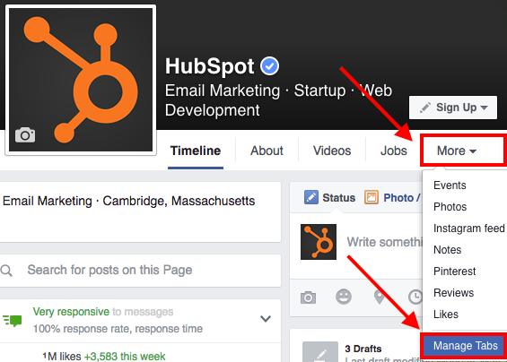 "facebook-manage-custom-tabs.png ""title ="" facebook-manage-custom-tabs.png ""larghezza ="" 500 ""dati vincolati ="" vero ""stile ="" larghezza: 500px; ""srcset ="" https: // blog.hubspot.com/hs-fs/hubfs/facebook-manage-custom-tabs.png?width=250&name=facebook-manage-custom-tabs.png 250w, https://blog.hubspot.com/hs-fs /hubfs/facebook-manage-custom-tabs.png?width=500&name=facebook-manage-custom-tabs.png 500w, https://blog.hubspot.com/hs-fs/hubfs/facebook-manage-custom- tabs.png? width = 750 & name = facebook-manage-custom-tabs.png 750w, https://blog.hubspot.com/hs-fs/hubfs/facebook-manage-custom-tabs.png?width=1000&name=facebook -manage-custom-tabs.png 1000w, https://blog.hubspot.com/hs-fs/hubfs/facebook-manage-custom-tabs.png?width=1250&name=facebook-manage-custom-tabs.png 1250w , https://blog.hubspot.com/hs-fs/hubfs/facebook-manage-custom-tabs.png?width=1500&name=facebook-manage-custom-tabs.png 1500w ""size ="" (larghezza massima: 500px) 100vw, 500px"