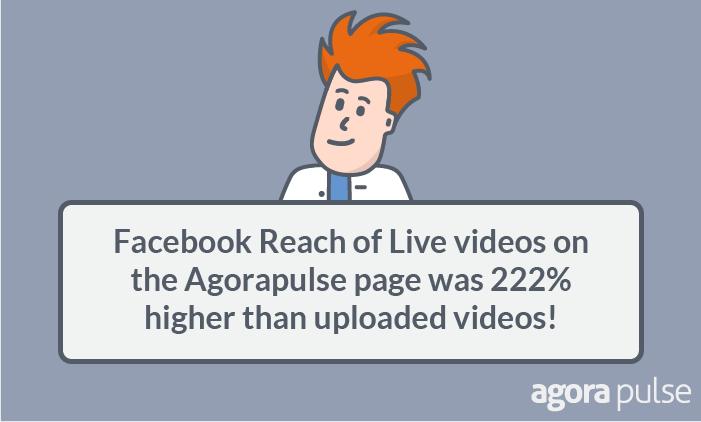 indirizzare più traffico verso i tuoi post sul blog utilizzando video - statistiche video live di Facebook