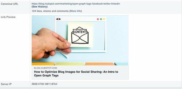"""Lo strumento di debugger di Facebook ritrae l'anteprima dei post in modo da garantire che tutto appaia accurato. """"Width ="""" 600 """"style ="""" width: 600px; blocco di visualizzazione; margine: 0px auto; """"srcset ="""" https://blog.hubspot.com/hs-fs/hubfs/HubSpots%205-Step%20Process%20to%20Fix%20Images%20With%20Facebook%20Debugger-1.jpeg?width = 300 e nome = HubSpots% 205-Step% 20Process% 20to% 20Fix% 20Immagini% 20Con% 20Facebook% 20Debugger-1.jpeg 300w, https://blog.hubspot.com/hs-fs/hubfs/HubSpots%205-Step% 20Processo% 20to% 20Fisso% 20Immagini% 20Con% 20Facebook% 20Debugger-1.jpeg? Larghezza = 600 e nome = HubSpots% 205-Step% 20Processo% 20to% 20Fisso% 20Immagini% 20Con% 20Facebook% 20Debugger-1.jpeg 600w, https / /blog.hubspot.com/hs-fs/hubfs/HubSpots%205-Step%20Process%20to%20Fix%20Images%20With%20Facebook%20Debugger-1.jpeg?width=900&name=HubSpots%205-Step%20Process%20to % 20Fix% 20Images% 20Con% 20Facebook% 20Debugger-1.jpeg 900w, https://blog.hubspot.com/hs-fs/hubfs/HubSpots%205-Step%20Process%20to%20Fix%20Images%20With%20Facebook% 20Debugger-1.jpeg? Width = 1200 & name = HubSpots% 205-Step% 20Process% 20to% 20Fix% 20Images% 20With% 20Facebook% 20Debugger-1.jpeg 1200w, https://blog.hubspot.com/hs-fs/hubfs / HubSpots% 205-step% 20Process% 20 a% 20Fix% 20Immagini% 20Con% 20Facebook% 20Debugger-1.jpeg? larghezza = 1500 & nome = HubSpots% 205-Step% 20Processo% 20to% 20Fix% 20Immages% 20Con% 20Facebook% 20Debugger-1.jpeg 1500w, https: // blog .hubspot.com / HS-fs / hubfs / HubSpots% 205-step% 20Process% 20to% 20Fix% 20Images% 20With% 20Facebook% 20Debugger-1.jpeg? width = 1800 & name = HubSpots% 205-step% 20Process% 20to% 20Fix % 20Immagini% 20Con% 20Facebook% 20Debugger-1.jpeg 1800w """"size ="""" (larghezza massima: 600px) 100vw, 600px"""