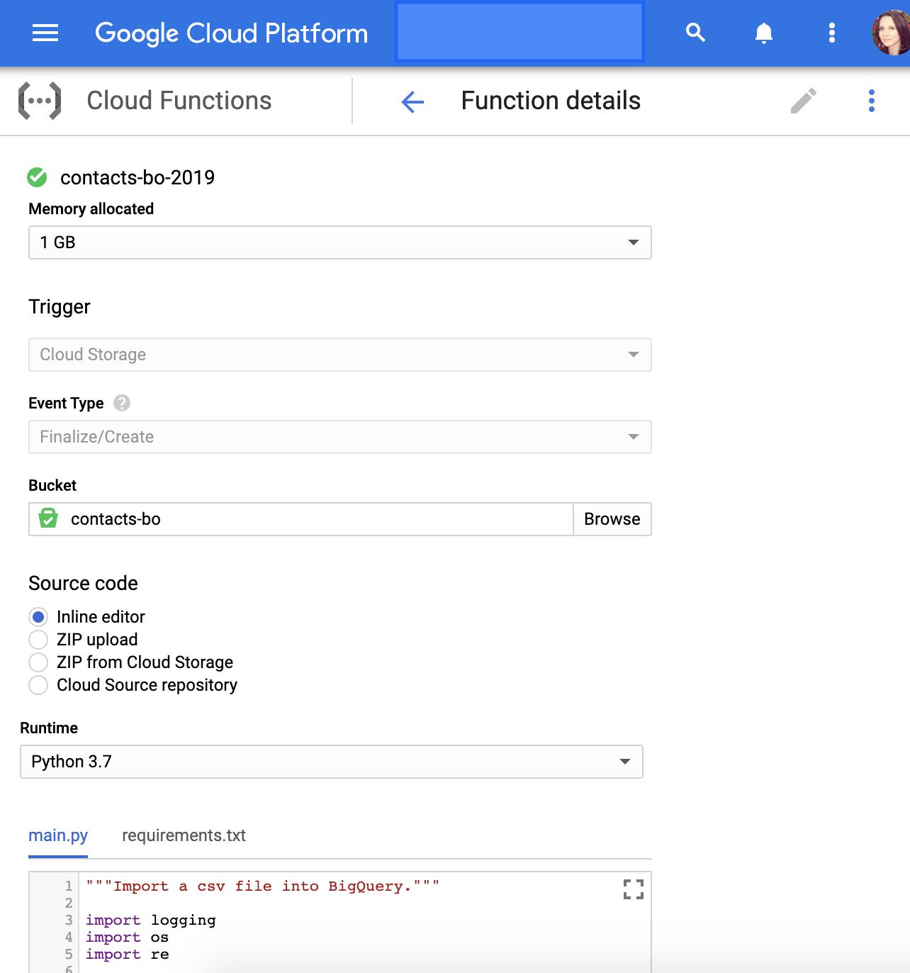 """creazione di funzioni con python per google bigquery. """"width ="""" 600"""