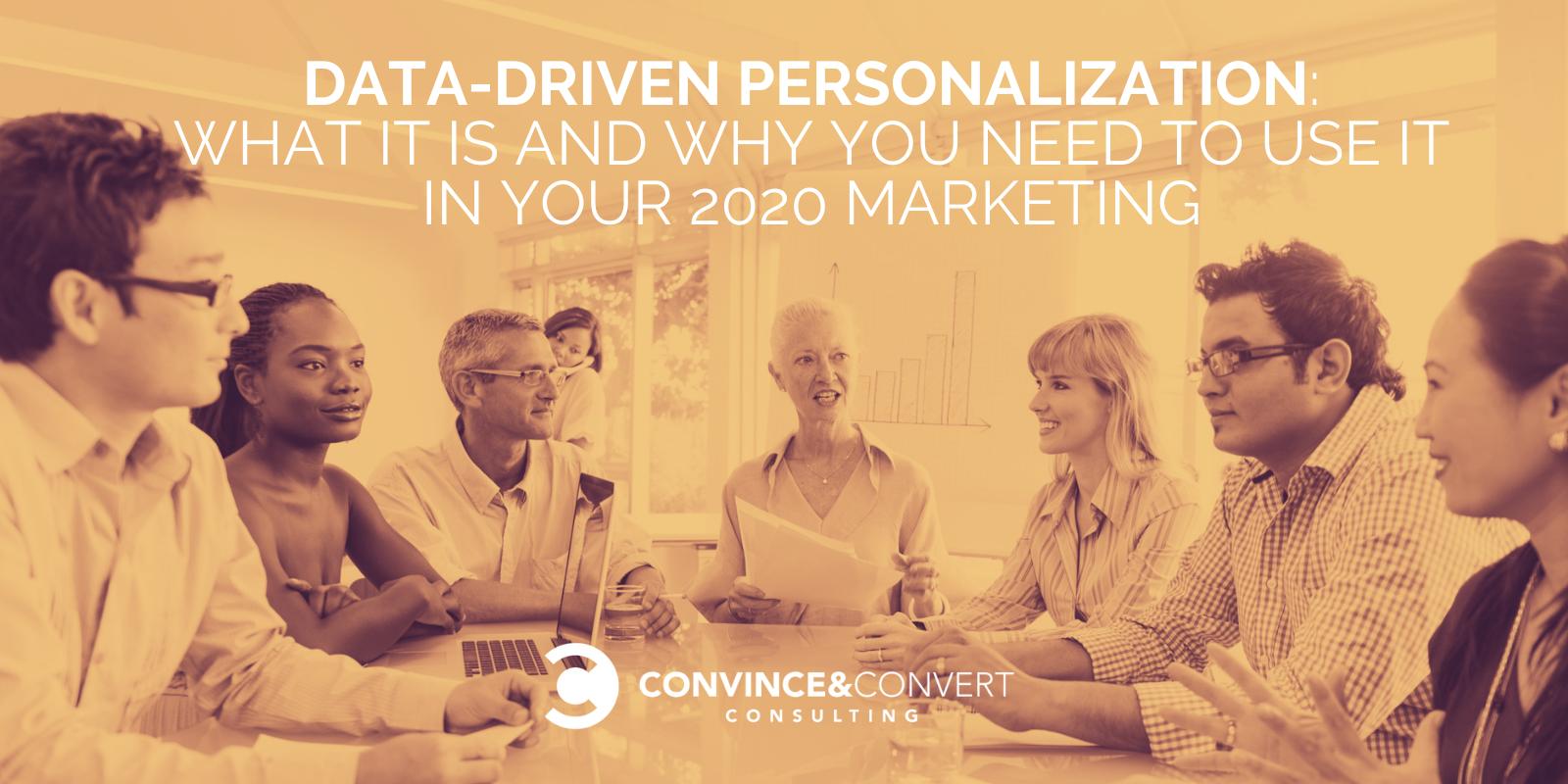 Personalizzazione basata sui dati_ Che cos'è e perché è necessario utilizzarlo nel marketing 2020