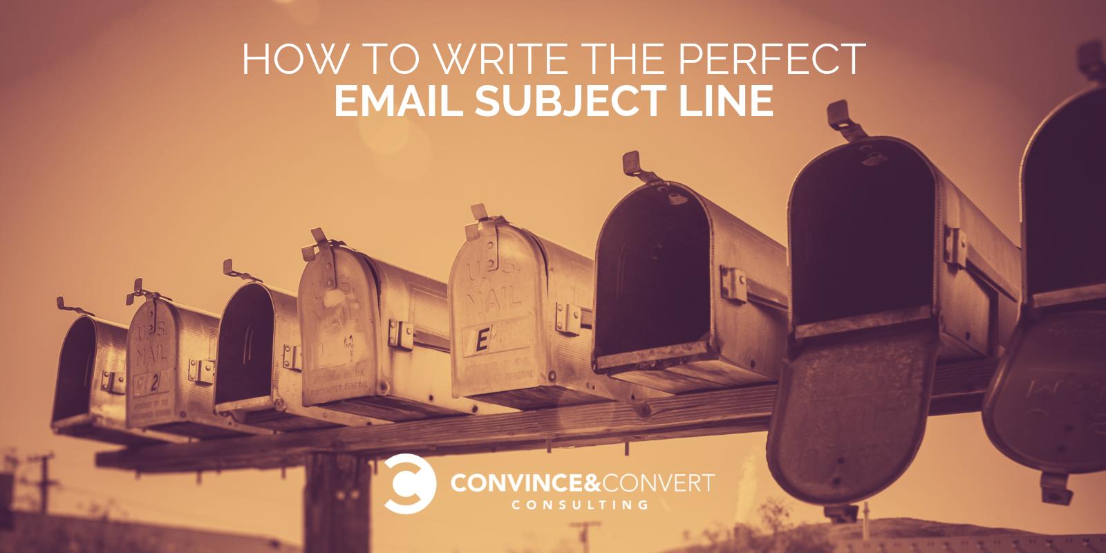 Come scrivere l'oggetto perfetto dell'email