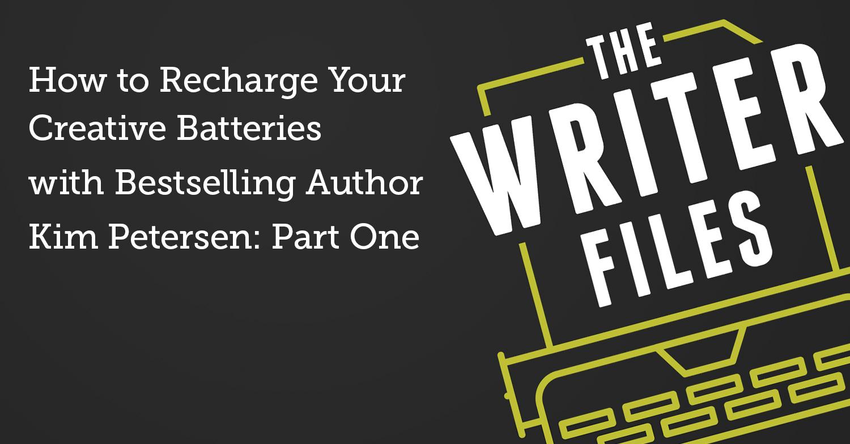 Come ricaricare le batterie creative con l'autore di best seller Kim Petersen: prima parte