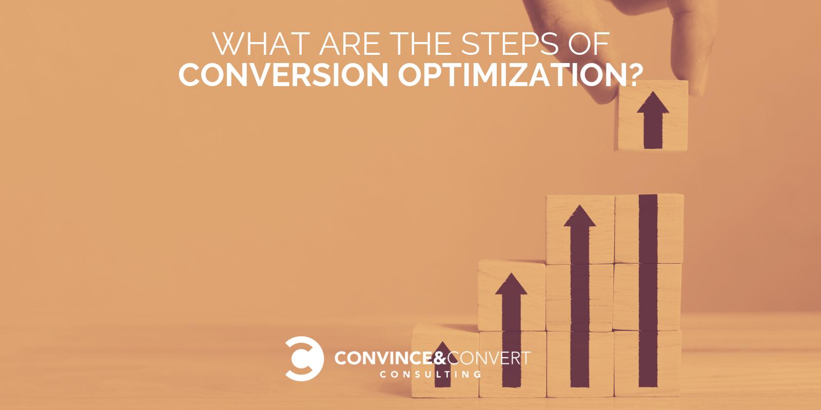 Quali sono i passaggi dell'ottimizzazione delle conversioni?