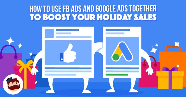 Aumenta le vendite delle festività con gli annunci di Facebook e gli annunci di Google