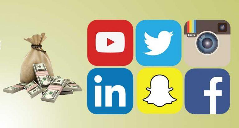 Utilizzo dei social media per fare soldi online in sicurezza