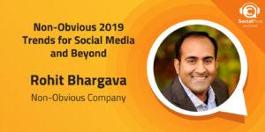 Tendenze 2019 non ovvie per i social media e oltre