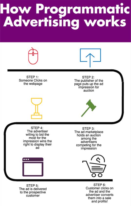 infografica pubblicitaria programmatica