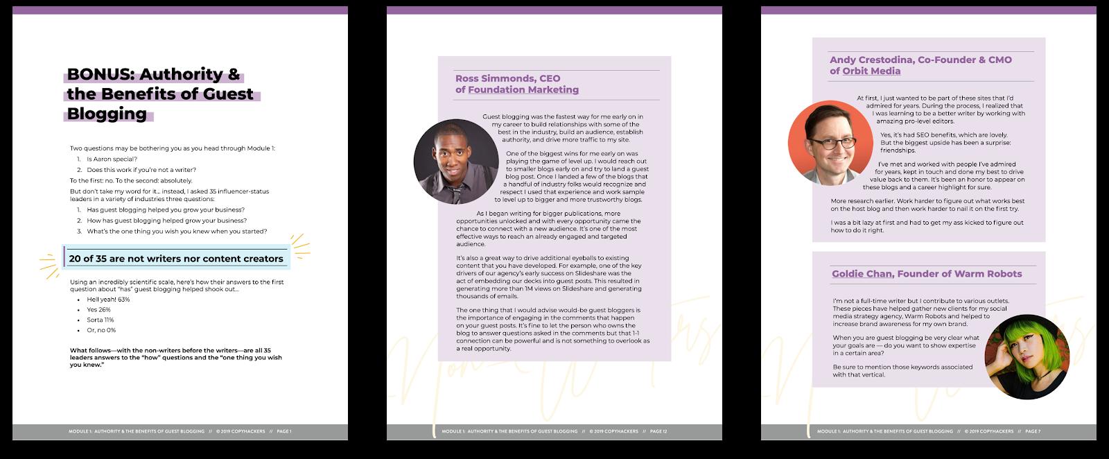 Bonus: autorità e vantaggi del PDF del blog degli ospiti