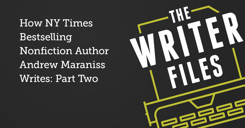 Come scrive Andrew Maraniss, autore della saggistica di successo del NY Times: seconda parte