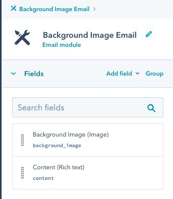 screenshot della barra degli strumenti a destra negli strumenti di progettazione