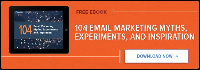 104 miti, esperimenti e ispirazione per l'email marketing