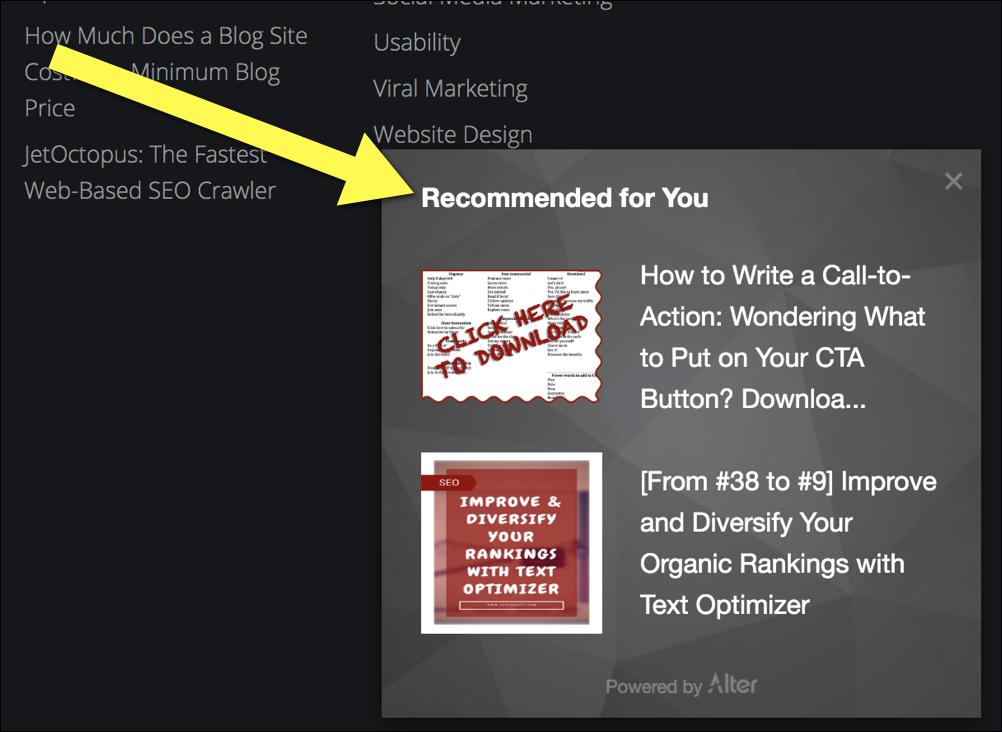Strumenti di marketing dei contenuti: modifica
