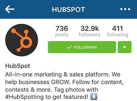 """Immagine e biografia del profilo Instagram di HubSpot """"title ="""" hubspot-profile-photo.jpg """"larghezza ="""" 450 """"dati vincolati ="""" vero """"stile ="""" larghezza: 450px; """"srcset ="""" https://blog.hubspot.com /hs-fs/hubfs/hubspot-profile-photo.jpg?width=225&name=hubspot-profile-photo.jpg 225w, https://blog.hubspot.com/hs-fs/hubfs/hubspot-profile-photo. jpg? width = 450 & name = hubspot-profile-photo.jpg 450w, https://blog.hubspot.com/hs-fs/hubfs/hubspot-profile-photo.jpg?width=675&name=hubspot-profile-photo.jpg 675w, https://blog.hubspot.com/hs-fs/hubfs/hubspot-profile-photo.jpg?width=900&name=hubspot-profile-photo.jpg 900w, https://blog.hubspot.com/hs -fs / hubfs / hubspot-profile-photo.jpg? larghezza = 1125 e nome = hubspot-profilo-foto.jpg 1125w, https://blog.hubspot.com/hs-fs/hubfs/hubspot-profile-photo.jpg? larghezza = 1350 e nome = hubspot-profile-photo.jpg 1350w """"dimensioni ="""" (larghezza massima: 450px) 100vw, 450px"""