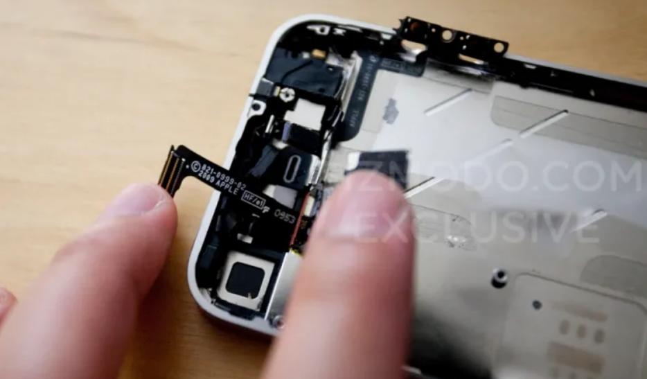foto perdita iPhone 4.