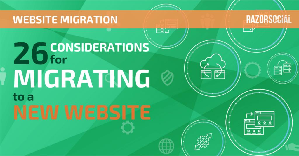 Migrazione di siti Web: 26 considerazioni per la migrazione a un nuovo sito Web