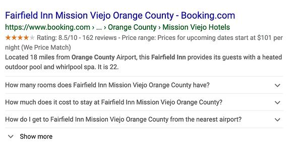 "Dati markup schema Fairfield Inn su Google. ""Width ="" 600 ""style ="" larghezza: 600px; blocco di visualizzazione; margine: 0px auto; ""srcset ="" https://blog.hubspot.com/hs-fs/hubfs/How%20to%20Use%20Schema%20Markup%20to%20Improve%20Your%20We site%20Structure.jpeg?width=300&name = Come% 20to% 20Usare% 20Schema% 20Markup% 20to% 20Migliorare% 20Your% 20 Siti web% 20Structure.jpeg 300w, https://blog.hubspot.com/hs-fs/hubfs/How%20to%20Use%20Schema%20Markup% 20to% 20Migliora% 20Your% 20Siti web% 20Structure.jpeg? Larghezza = 600 & name = How% 20to% 20Use% 20Schema% 20Markup% 20to% 20Improve% 20Your% 20Siti web% 20Structure.jpeg 600w, https://blog.hubspot.com/hs -fs / hubfs / Come% 20to% 20Use% 20Schema% 20Markup% 20to% 20Improve% 20Your% 20Websites% 20Structure.jpeg? width = 900 & name = Come% 20to% 20Use% 20Schema% 20Markup% 20to% 20Improve% 20Your% 20Websites% 20Structure .jpeg 900w, https://blog.hubspot.com/hs-fs/hubfs/How%20to%20Use%20Schema%20Markup%20to%20Improve%20Your%20We Sites%20Structure.jpeg?width=1200&name=How%20to% 20Usare% 20Schema% 20Markup% 20to% 20Migliorare% 20Your% 20 Siti web% 20Structure.jpeg 1200w, https://blog.hubspot.com/hs-fs/hubfs/How%20to%20Use%20Schema%20Markup%20to% 20Migliora% 20Your% 20Siti web% 20Structure.jpeg? Width = 1500 & name = How% 20to% 20Use% 20Schema% 20Markup% 20to% 20Improve% 20Your% 20Siti web% 20Structure.jpeg 1500w, https://blog.hubspot.com/hs-fs /hubfs/How%20to%20Use%20Schema%20Markup%20to%20Improve%20Your%20Websites%20Structure.jpeg?width=1800&name=How%20to%20Use%20Schema%20Markup%20to%20Improve%20Your%20Websites%20Structure.jpeg 1800w ""size ="" (larghezza massima: 600px) 100vw, 600px"
