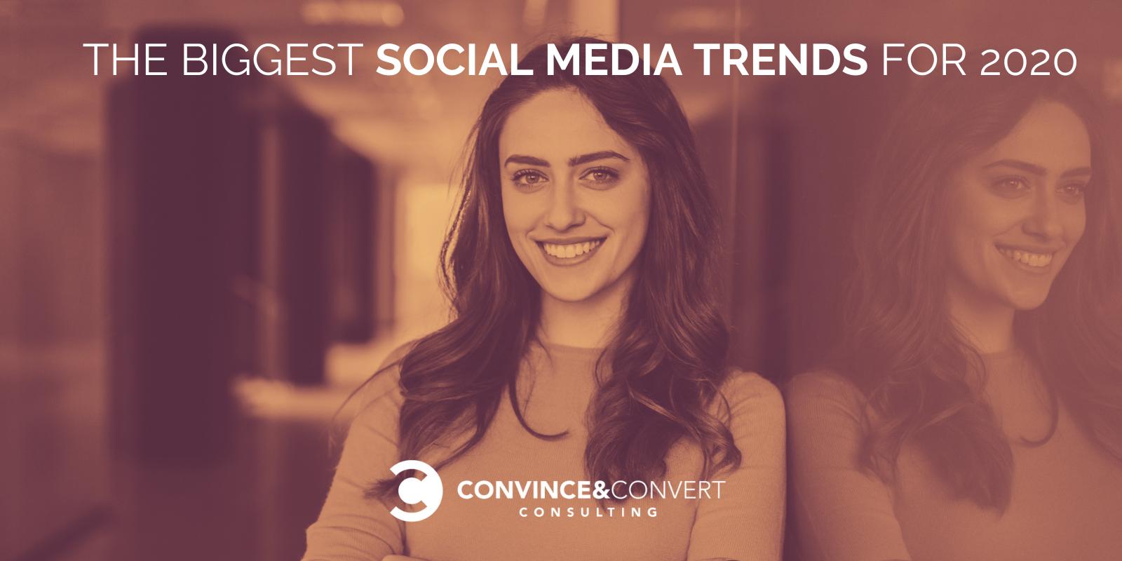 Le maggiori tendenze sui social media per il 2020