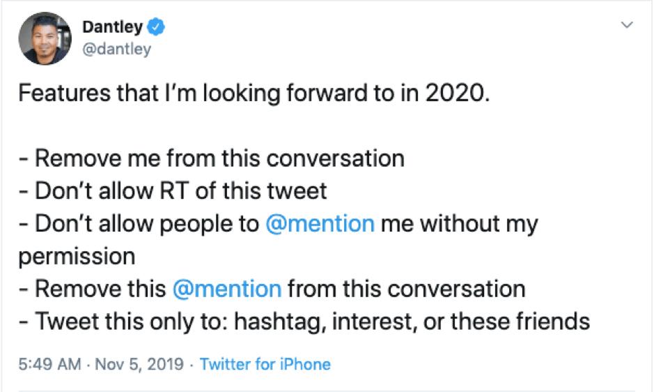 Twitter nuove funzionalità tweet