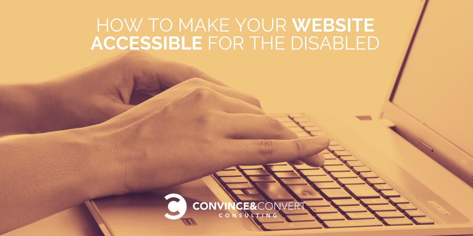 Come rendere il tuo sito Web accessibile ai disabili