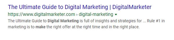 La guida definitiva ai risultati della ricerca nel marketing digitale