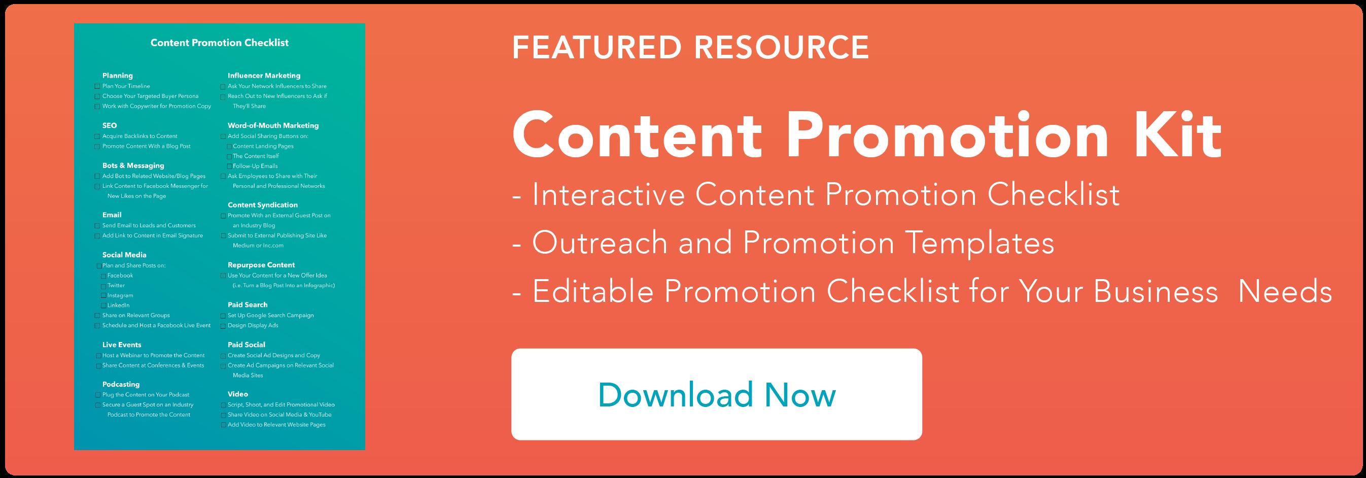 promozione dei contenuti