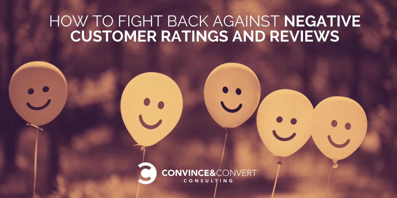 Come combattere le valutazioni e le recensioni negative dei clienti