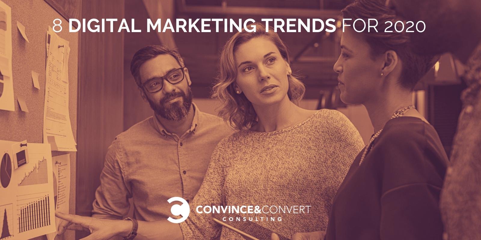 8 Tendenze del marketing digitale per il 2020
