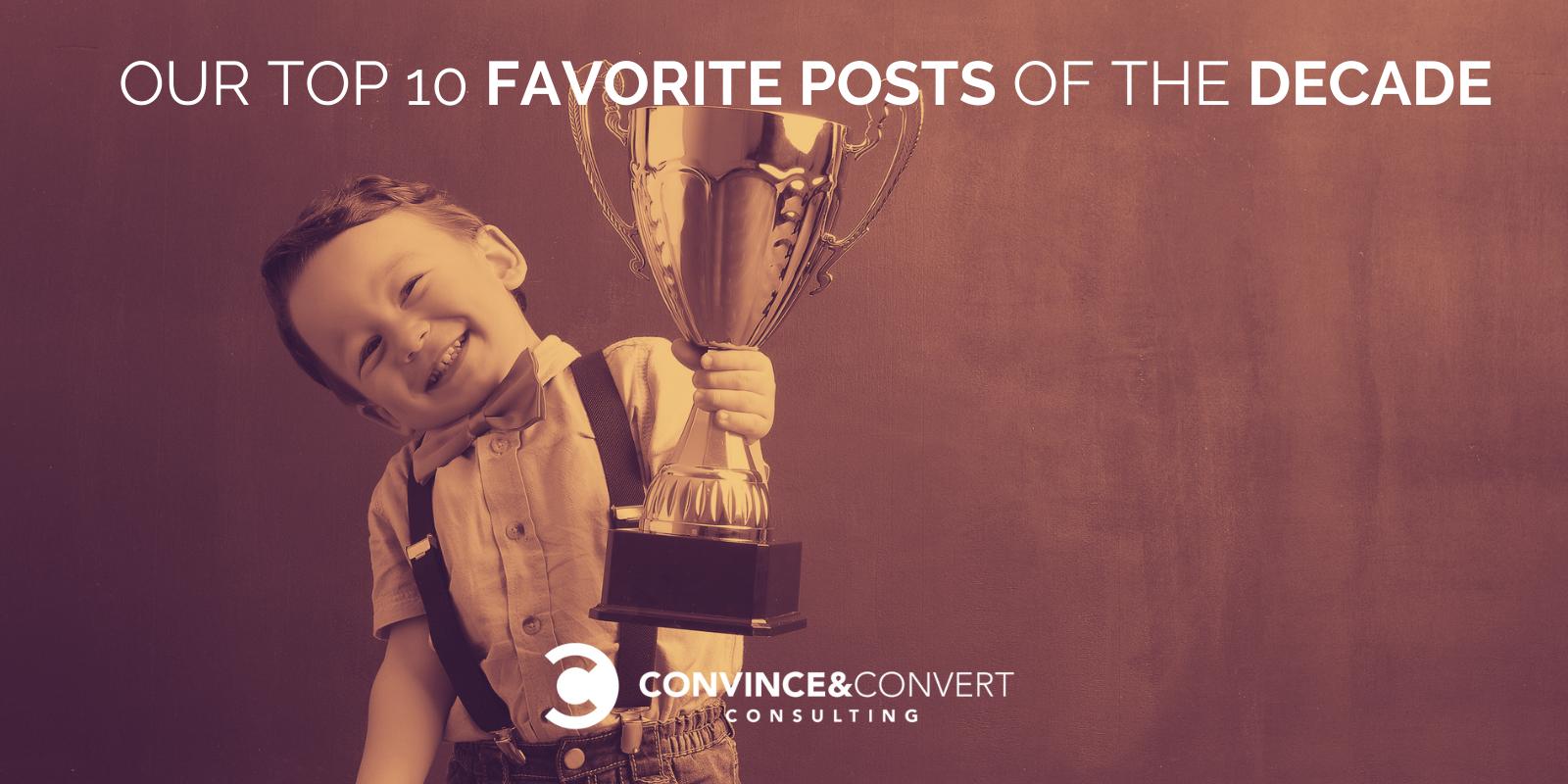I 10 post preferiti del decennio