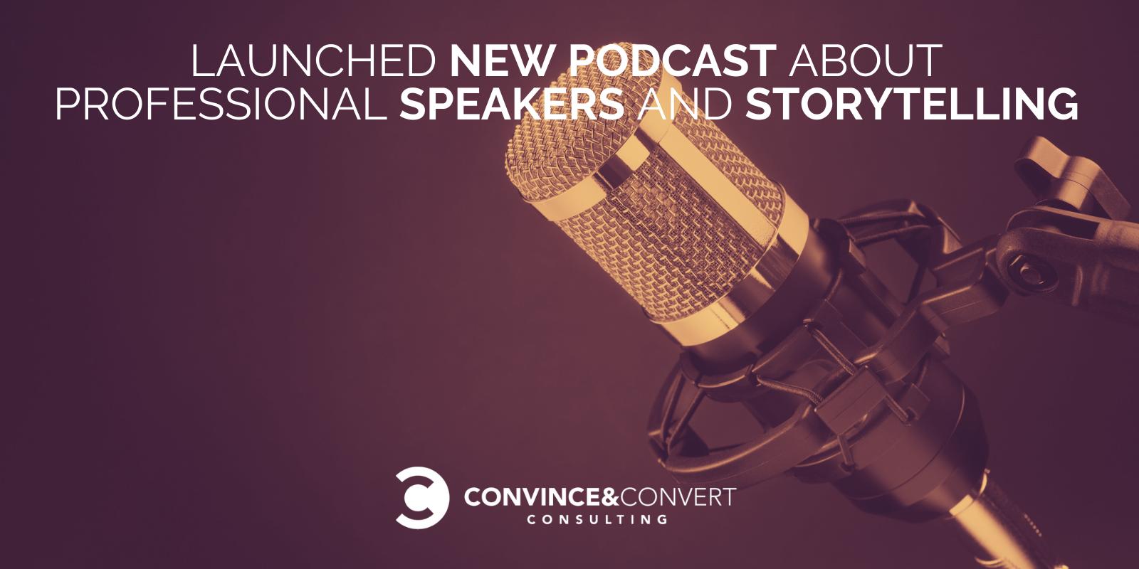 Lancio di un nuovo podcast sugli altoparlanti professionali e sullo storytelling