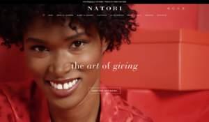 Home page di Natori.com