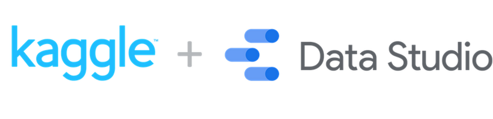 kaggle plus data studio.