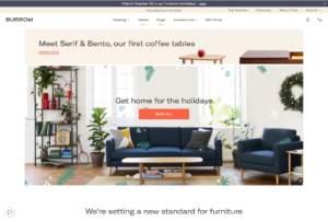 Home page di Burrow.com