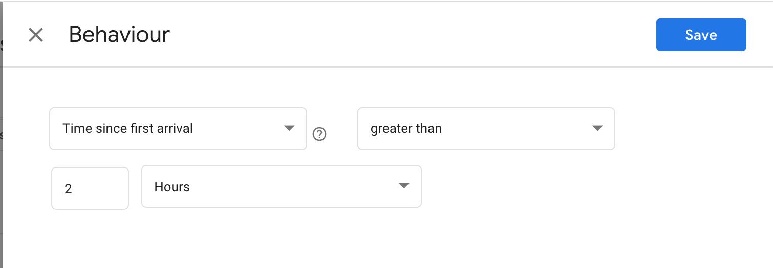 behavior setup for personalization based on content.