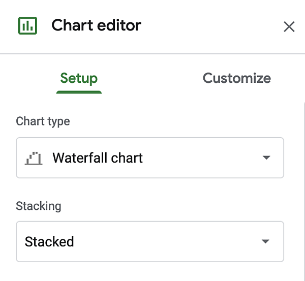 "Editor di grafici a cascata in Excel. ""Width ="" 600 ""style ="" larghezza: 600px; blocco di visualizzazione; margine: 0px auto; ""srcset ="" https://blog.hubspot.com/hs-fs/hubfs/insert-chart.png?width=300&name=insert-chart.png 300w, https: //blog.hubspot. com / hs-fs / hubfs / insert-chart.png? width = 600 & name = insert-chart.png 600w, https://blog.hubspot.com/hs-fs/hubfs/insert-chart.png?width=900&name = insert-chart.png 900w, https://blog.hubspot.com/hs-fs/hubfs/insert-chart.png?width=1200&name=insert-chart.png 1200w, https://blog.hubspot.com /hs-fs/hubfs/insert-chart.png?width=1500&name=insert-chart.png 1500w, https://blog.hubspot.com/hs-fs/hubfs/insert-chart.png?width=1800&name= insert-chart.png 1800w ""dimensioni ="" (larghezza massima: 600px) 100vw, 600px"