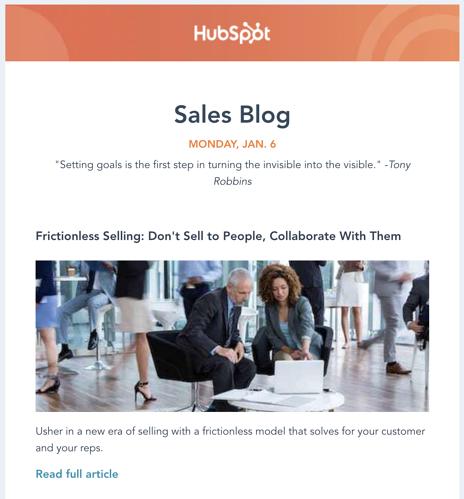 come promuovere l'email del tuo blog