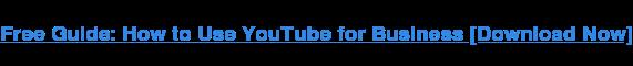 Scarica ora: come utilizzare YouTube for Business