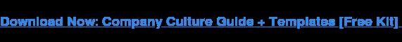 Scarica una guida e un modello gratuiti per aiutarti a creare un codice di cultura aziendale.