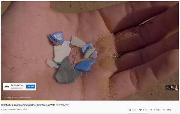 Annuncio in-stream prima di un video di Youtube