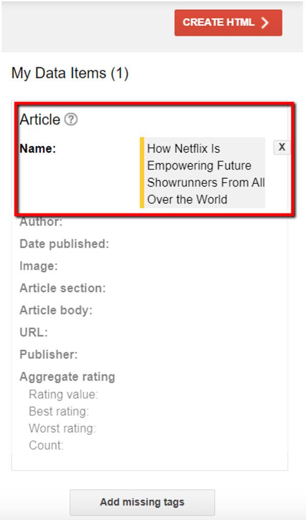 I tempi dei dati aggiornati che vedrai sul lato destro della pagina web