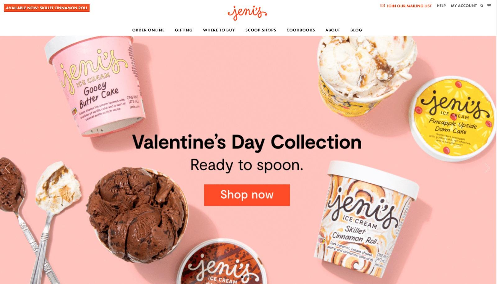 Homepage di Jenis VDay
