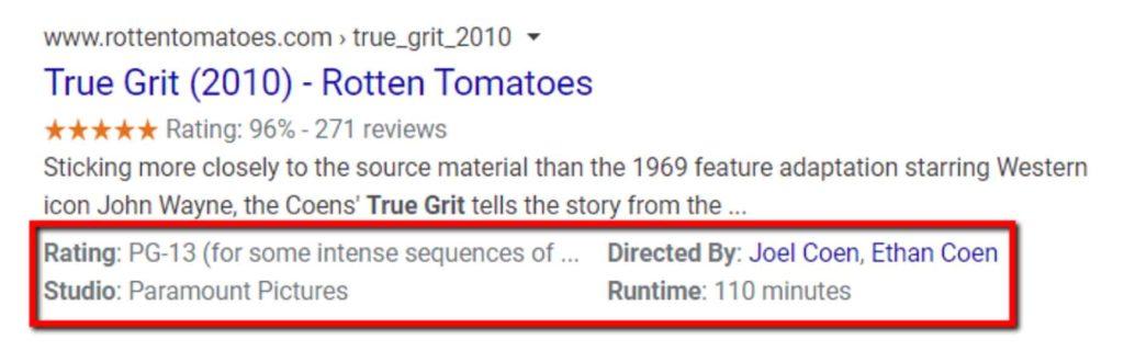 Risultati del motore di ricerca per True Grit