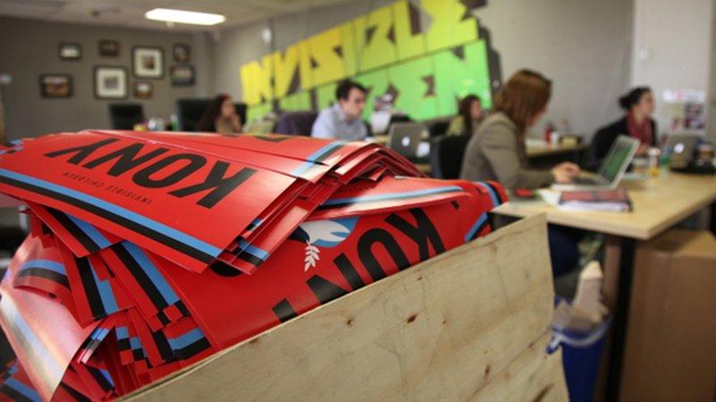 Materiale della campagna Kony 2012